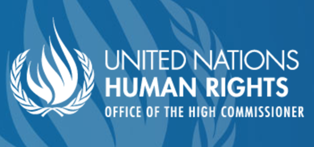 Logo of the United Nations Office of the High Commissioner of Human Rights. Graphic: UNHCR