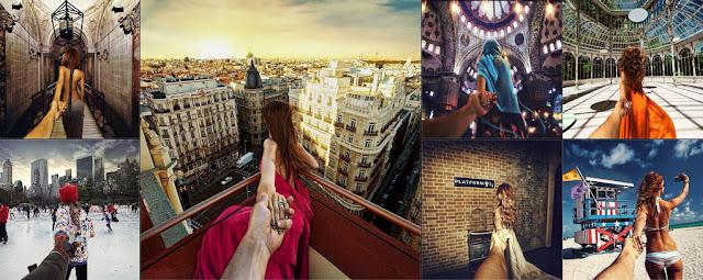 #執妳之手帶妳環遊全世界:以《Follow me》為主題拍出創意旅行照 1