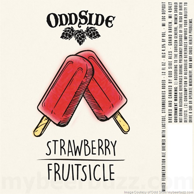 Odd Side Ales Adding Strawberry & Black And Blue Berry Fruitsicle