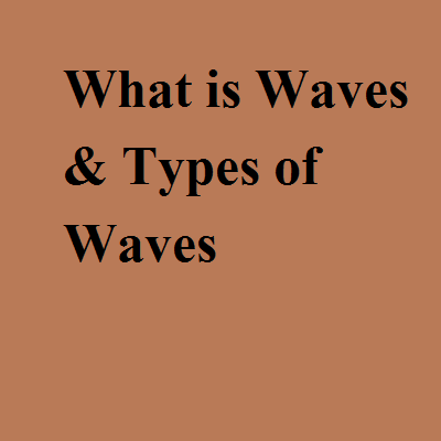 What is Waves & Types of Waves
