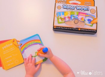 Water Wow color books from Melissa & Dough