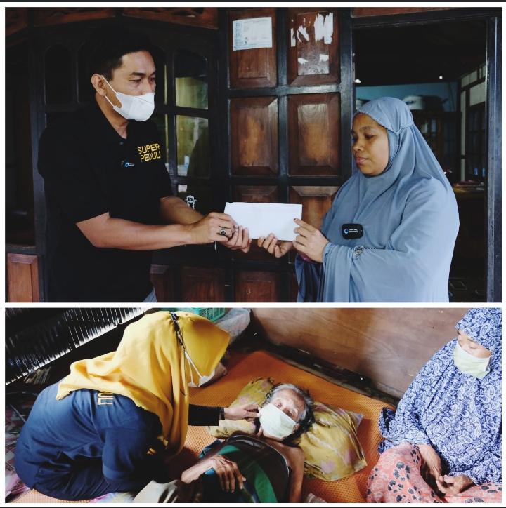 Anggota DPR RI Supriansa Salurkan Bantuan untuk Imeda dan Rahma