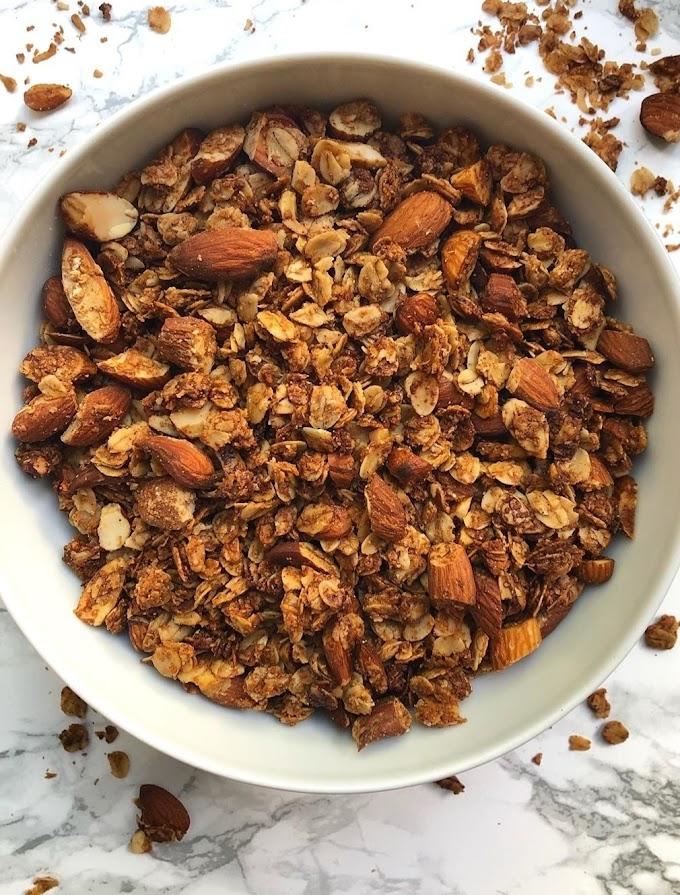 Almond Butter Granola Recipe | Breakfast Care | Healthy Breakfast