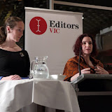 Outgoing Newsletter Editors Kirsten Rawlings and Melanie Sheridan