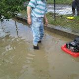 Záplavy v obci 1.7 a 14.7 2009