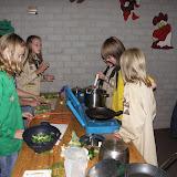 10 sept 2008, volledige maaltijd koken
