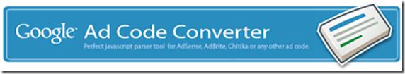 adsense ad converter