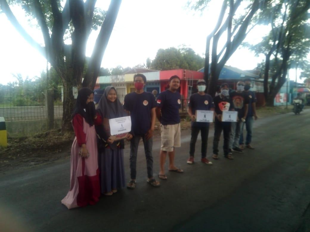 Antusias Ormas GASAK Bersama  Ormas Lainnya Gelar Menggalang Dana Untuk Korban Banjir Di Kecamatan Cicurug