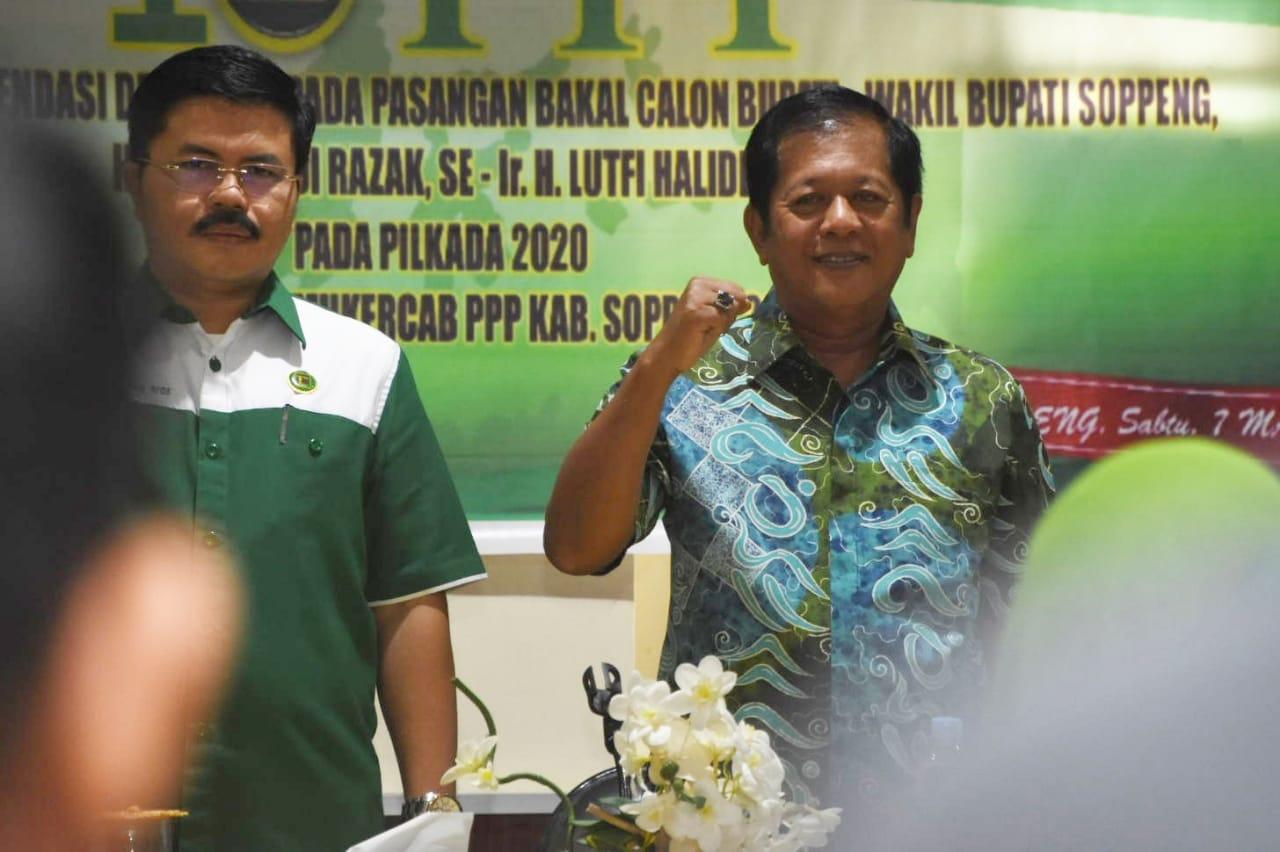 Partai PPP Resmi Usung AKAR - LHD di Pilkada Soppeng Tahun 2020