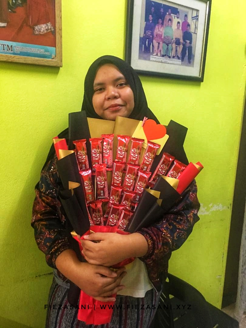surprise delivery birthday, coklat bouquet, coklat bouquet murah, surprise delivery ipoh