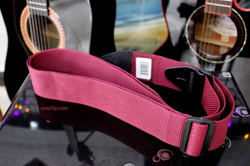 Dây Đeo Guitar - Ernies Ball Polypro Burgundy