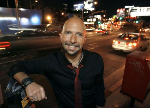 Neil Strauss Black Red Tie, Neil Strauss