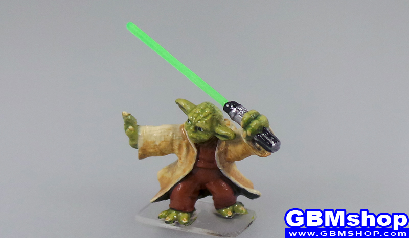 star wars miniature Imperial Assault Yoda Jedi Master #24 Revenge of the Sith Star Wars Miniatures Custom Customize and Painting