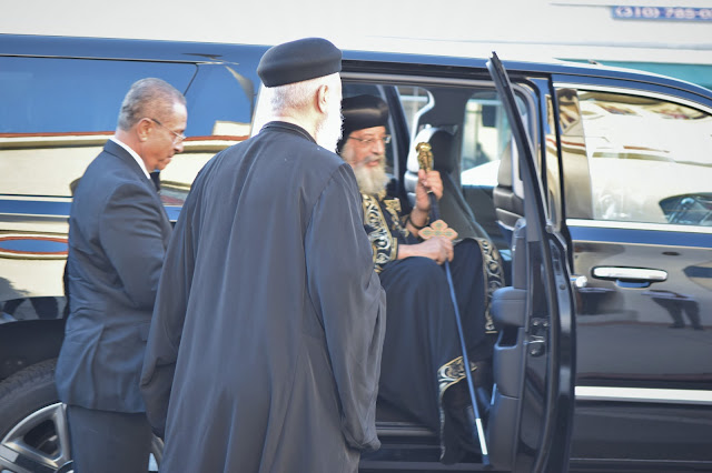 His Holiness Pope Tawadros II visit to St. Mark LA - DSC_0111.JPG