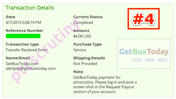 getbuxtoday payment proof