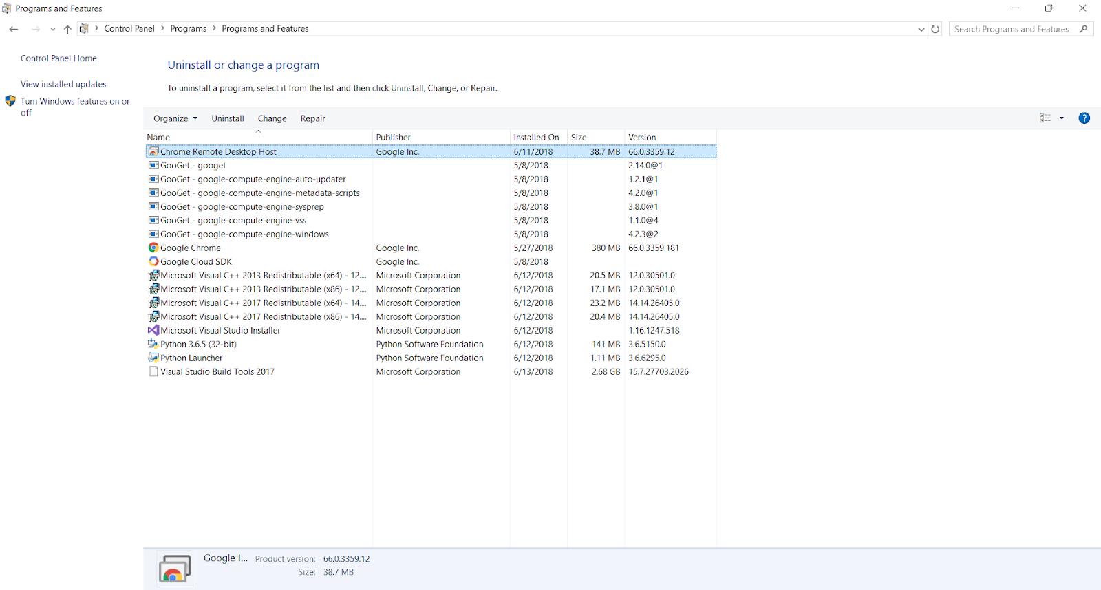 Chrome Remote Desktop with black screen - Google Chrome Help