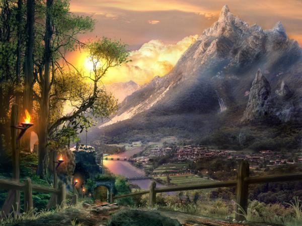 Scary Lands Of Deep, Fantasy Scenes 2