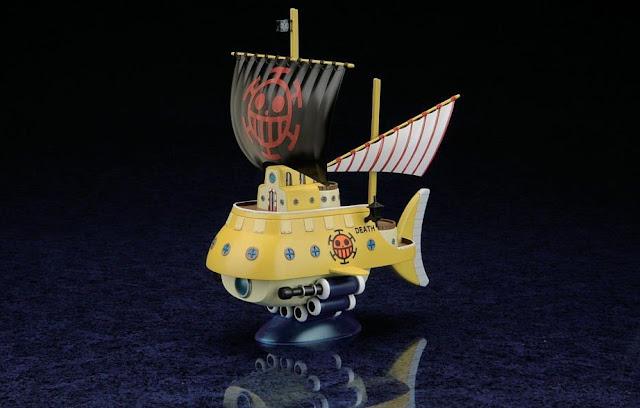 Hình ảnh tinh tế đặc sắc của đồ chơi mô hình Chiến thuyền Trafalgar Law's Submarine