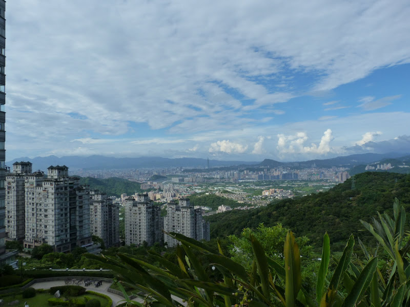 TAIWAN .TAIPEI.Ankeng puis Taipei SIJHIHLe typhon est la, je ne vais donc pas trop loin - P1080941.JPG