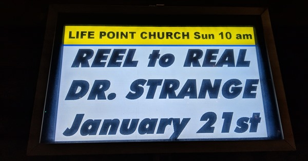Life Point Church: Reel to Real