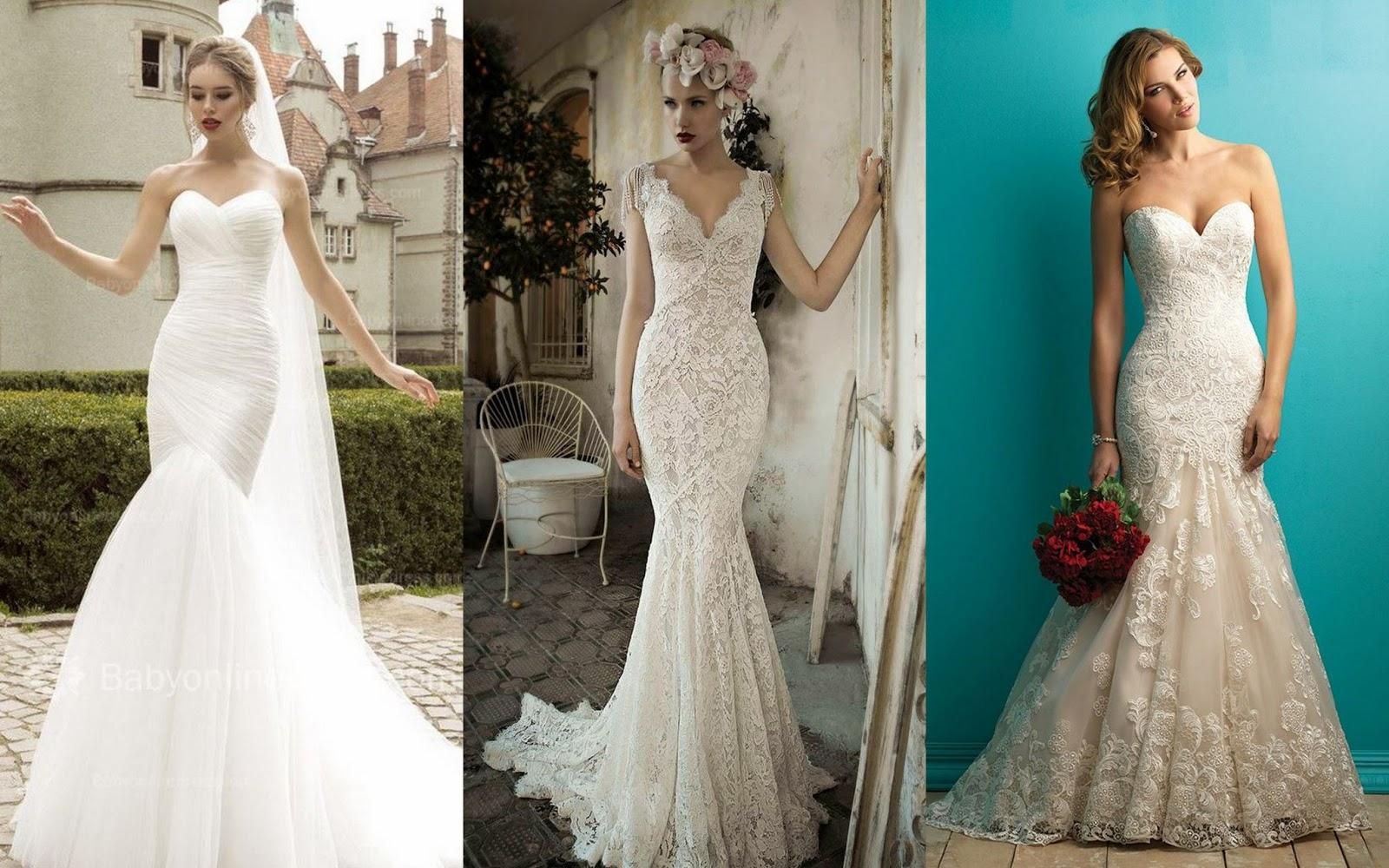 Mermaid Wedding Dress Body Type