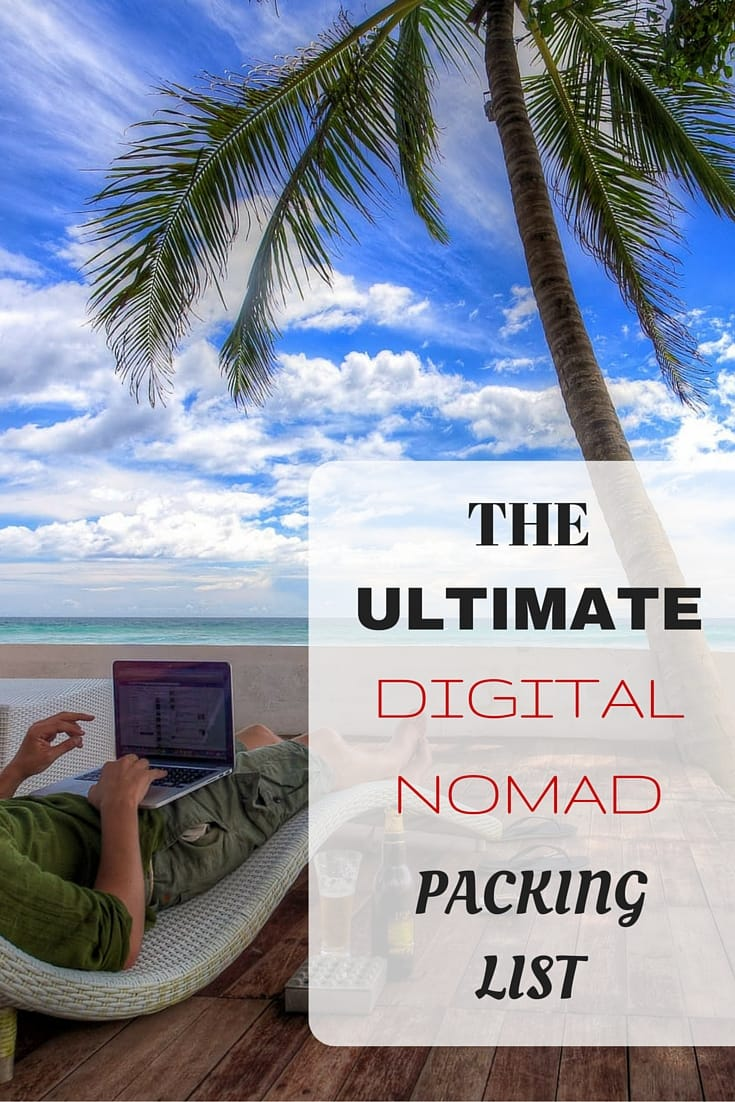 The definitive packing list for travelling, both long and short term, from the perspective of getting some work done on the go. Has everything you might need for your trip. A must read!