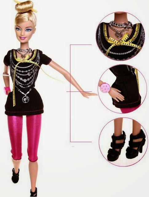 Búp bê Barbie nhà thiết kế Fashion Designer