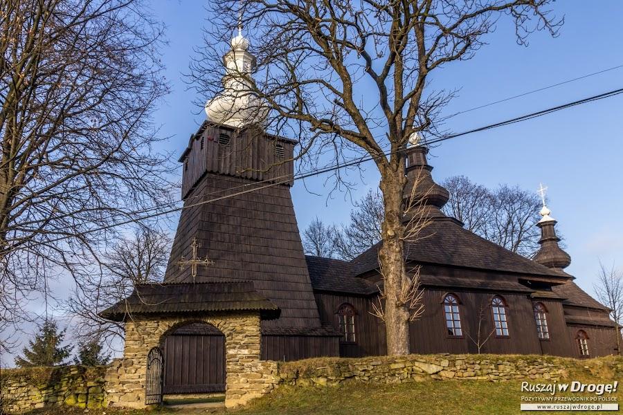 Drewniana cerkiew w Brunarach