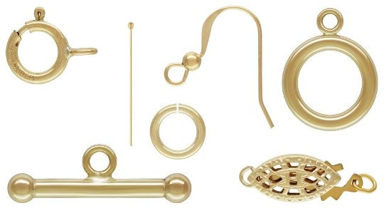 Gold Filled Components by Jen's Findings