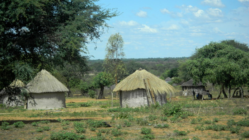 Remote village near Shakawe