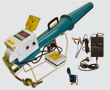 gas kanon propaan
