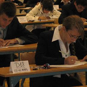 Egzamin gimnazjalny - 22 kwietnia 2009