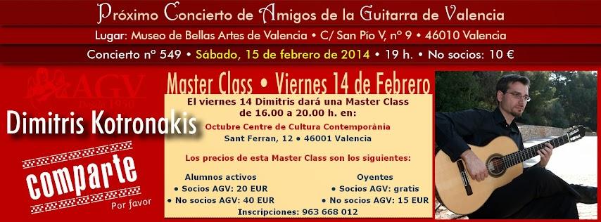 Master Class de Dimitris Kotronakis