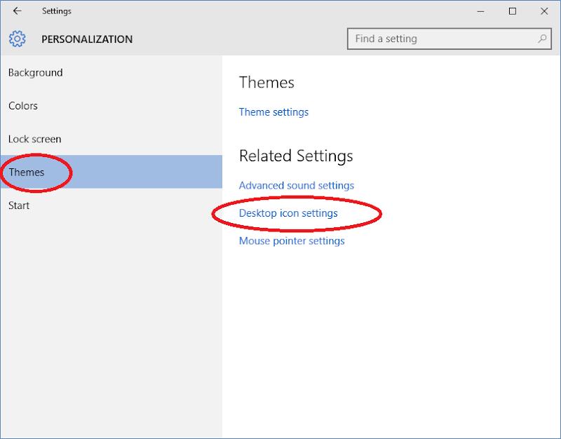 mengganti ikon desktop dan folder 01
