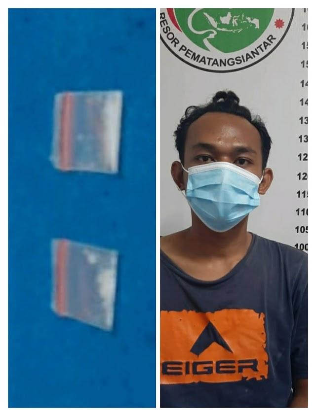 Bawa Shabu 0.80 Gram,Warga Pondok Sayur diringkus Polisi