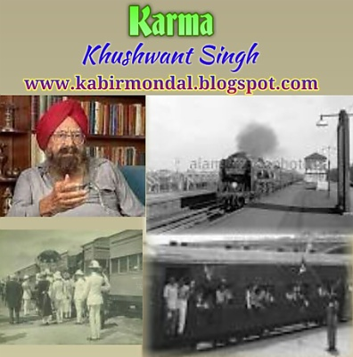 significance of the title karma by khushwant singh