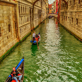 transportation by Eseker RI - City,  Street & Park  Historic Districts ( venezia, italia,  )