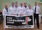 2010 Fife Taekwondo members 'working up a sweat'