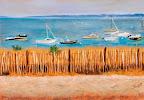 Quiberon à l'horizon 50 x 40 Septembre 2005