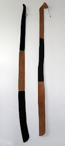 Holder for Longbow - very smooth leather