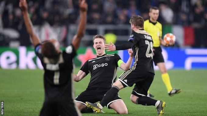 'It Is NOT Normal'- Ajax Captain Matthijs de Ligt Speaks On Beating Juventus