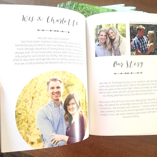 Our adoption profile book
