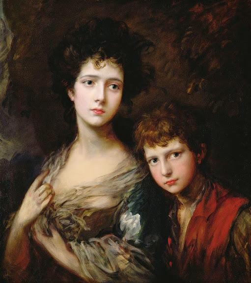 Thomas Gainsborough - Elizabeth and Thomas Linley