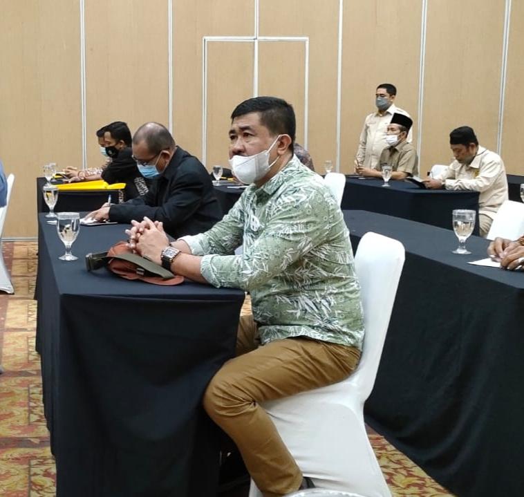 Kaban Kesbangpol Inhil Hadiri Pembukaan Rakor dan Bimtek FKDM Se Riau