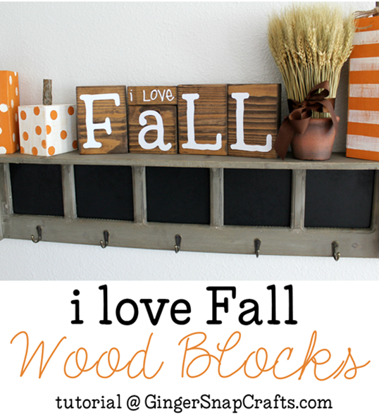 I love Fall Wood Blocks tutorial at GingerSnapCrafts.com #fall #wood #vinyl #SilhouettePortrait_thumb[1]