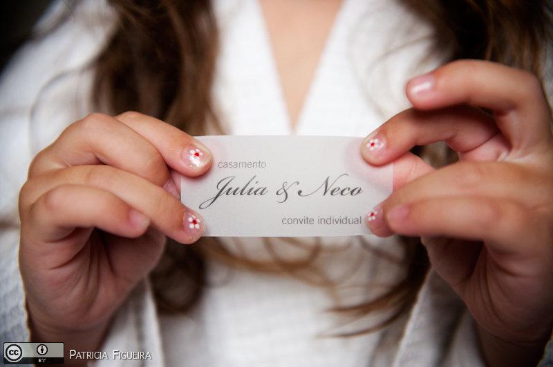 Foto de casamento 0018 de Julia e Erico. Marcações: 05/12/2009, Casamento Julia e Erico, Convite, Convite de Casamento, Gizela Studio 311, Rio de Janeiro.