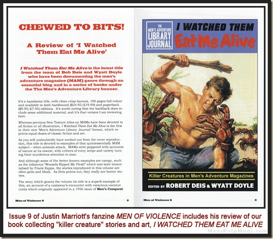 MEN OF VIOLENCE, Issue 9 p2&3 wm