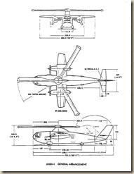 McDonnell XHRH-1 General Arrangement