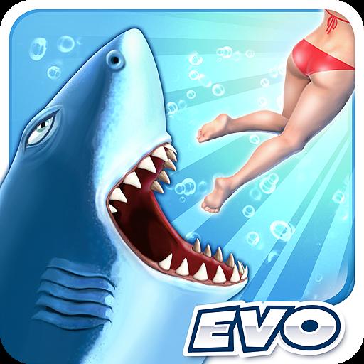HUNGRY SHARK EVOLUTION COM DINHEIRO INFINITO
