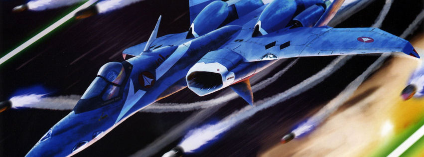 Vf1 valkyrie fighter facebook cover